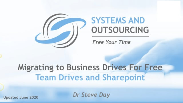 Migrating To Business Drives Overview