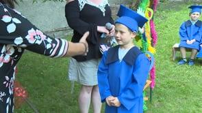 Slavnostní ceremoniál pro radvanické předškoláky