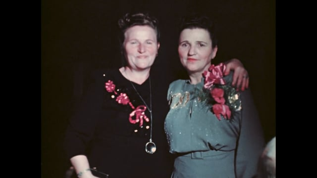 Fiji and Sally Wedding 1947
