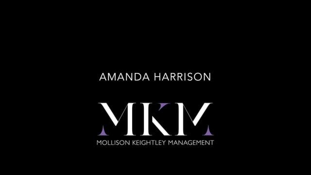 Showreel for Amanda Harrison