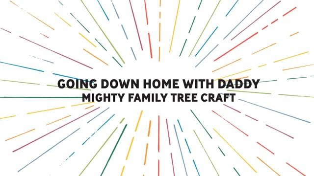Mighty Family Tree Craft