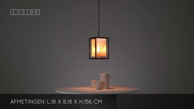 Lucide - SANSA - Hanglamp - 21422/01