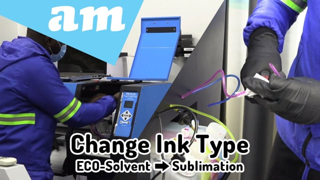 #SortIT, How-to Convert Printer to a Different Ink Type (Demo on ECO-Solvent to Sublimation Ink Conversion)