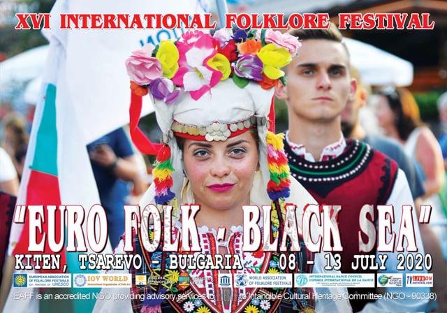 "XVI Folklore Festival ""Euro Folk - Black Sea 2020"""