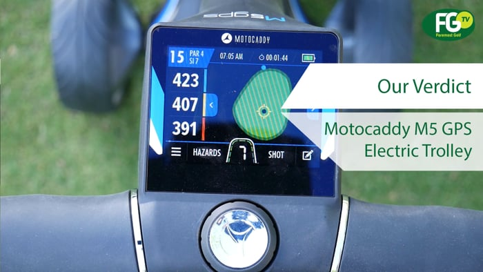 Motocaddy M5 GPS Electric Trolley | Product Review