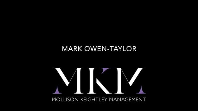 Showreel for Mark Owen-Taylor