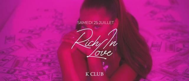 RICH IN LOVE | 25.07.2020