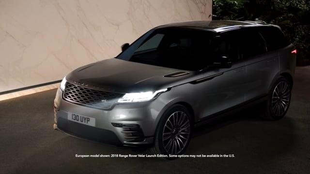 The New Range Rover Velar - Night Sound   Land Rover USA