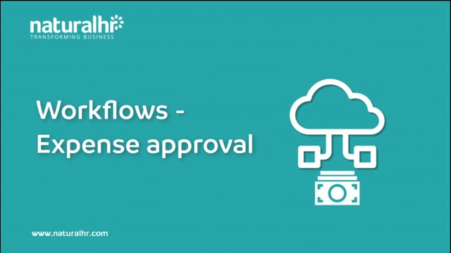 Workflow - Expense approval