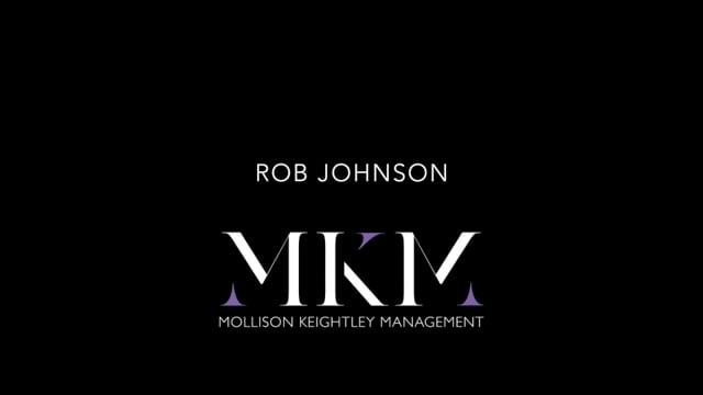 Showreel for Rob Johnson