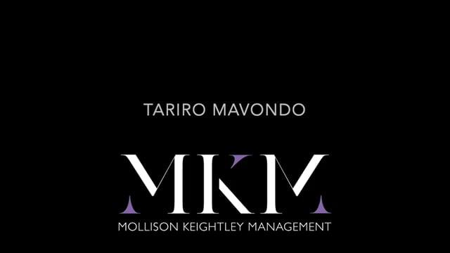 Showreel for Tariro Mavondo
