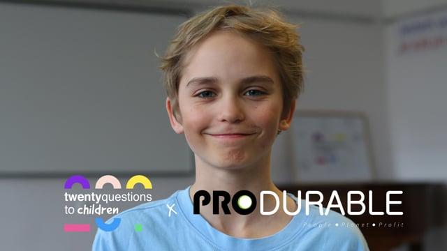 20 Questions to Children au salon Produrable 2020
