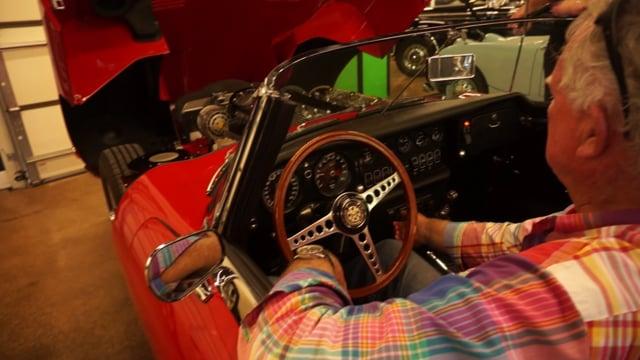 video 1970 Jaguar XKE Series II OTS Roadster