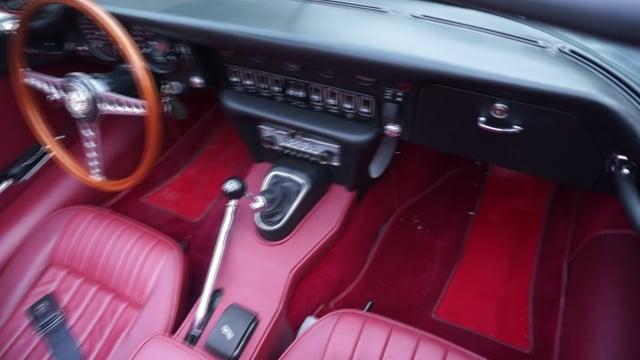 video 1971 Jaguar XKE Series II OTS Roadster