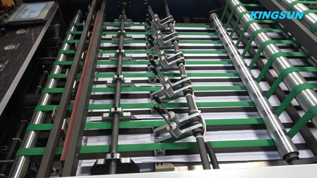5 Rolls A4 Copy Paper Cutting and Packaging Machine  | A4,A3 Copy Paper Machine - Kingsun