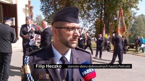 Hasiči pomáhají v Petřvaldu už 165 let
