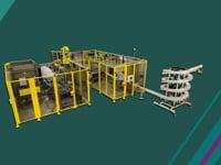 Video: Kompletní robotický systém pro balení zdravotnických prostředků