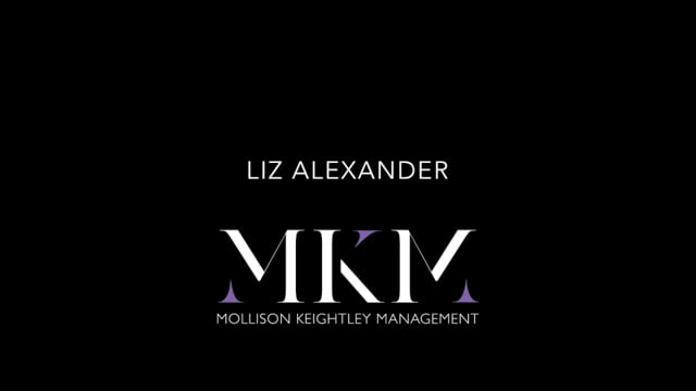 Showreel for Liz Alexander