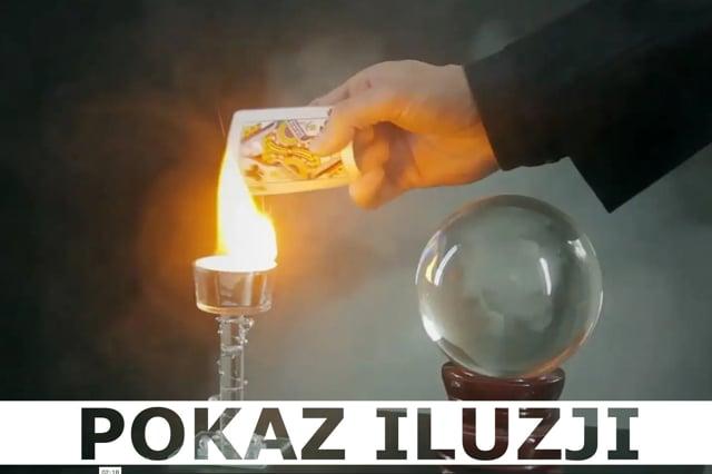 Pokazy iluzji - Iluzjonista Marcin Gogołowicz
