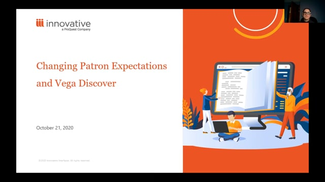 Changing Patron Expectations and Vega Discover