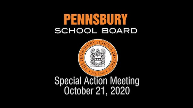 Pennsbury School Board Meeting for October 21, 2020