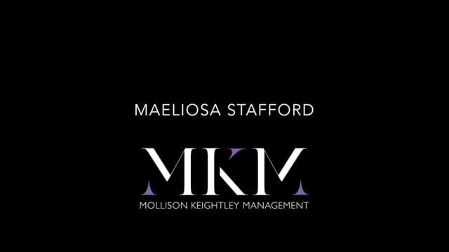 Showreel for Maeliosa Stafford