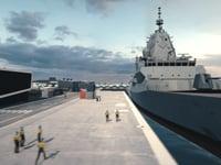 How the Hunter Class Frigate will be built