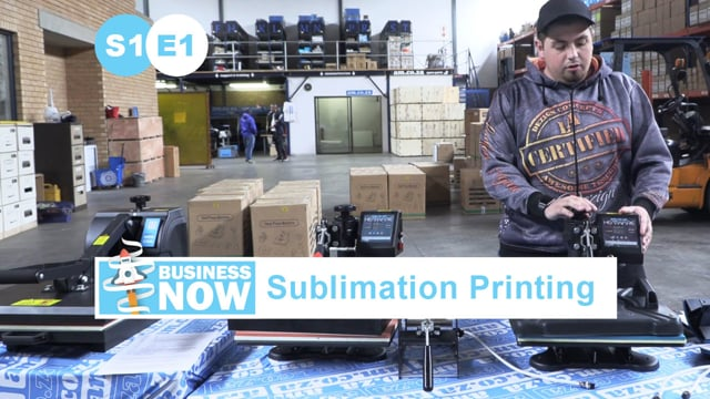 BusinessNow S1E1 - Start Sublimation Business, Heat Presses Complete Guide on Functions and Options