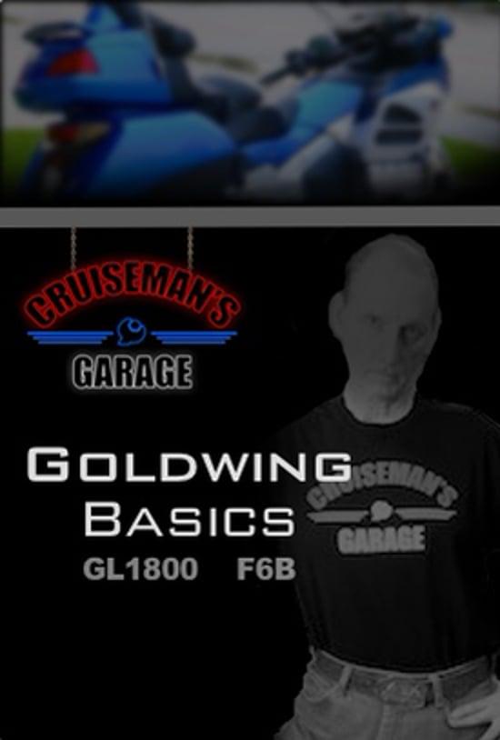 honda goldwing f6b basics maintenance series