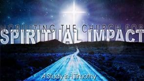 Mobilizing The church For Spiritual Imapact