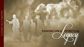 Passing On A Spiritual Legacy