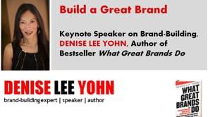 Brand Expert and Speaker Denise Lee Yohn