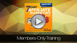 RMI: 7 Day Affiliate Marketing