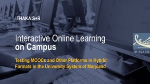 Interactive Online Learning on Campus