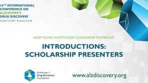 ADDF Young Scholars (Intros)