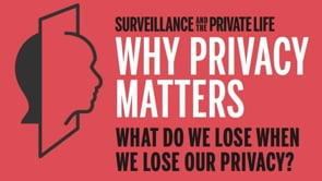 Why Privacy Matters: What Do We Lose When We Lose Our Privacy?
