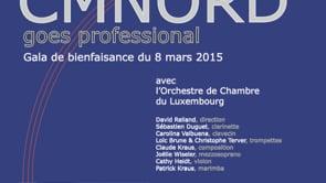 CMNORD goes professional - Gala de bienfaisance