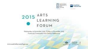 Arts Learning Forum 2015