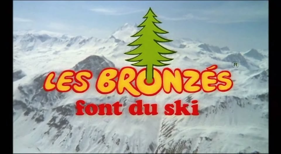 Les Bronzes font du ski 1979