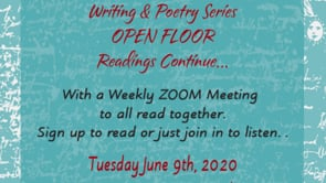 6.09.20 WRiting& Poetry Zoom Mtg