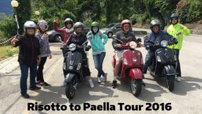 Paella to Risotto Tour 2016