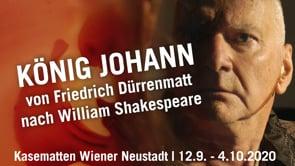 KÖNIG JOHANN - Trailer, Teaser, Hintergründe
