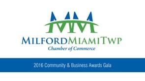 2016 Community & Business Awards Gala