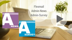 Flexmail Admin-News & Survey NL