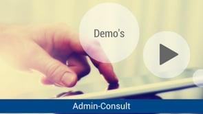 NL Demo's Admin-Consult