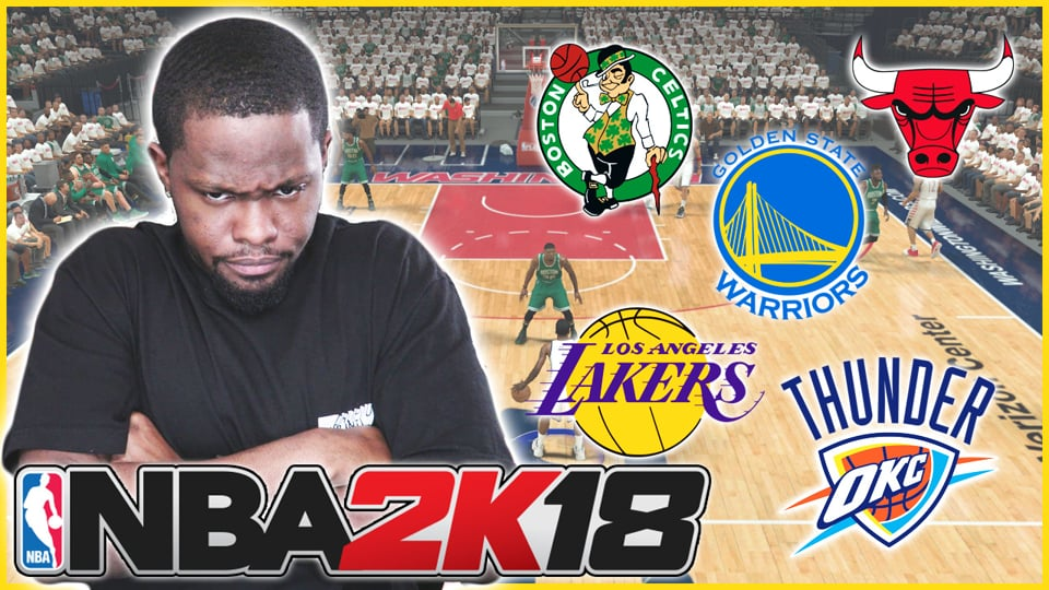 NBA 2K18 Gameplay