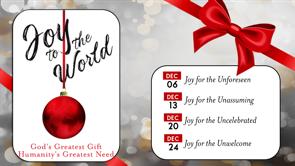 Joy to the World - Christmas 2020