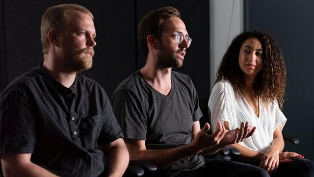 James George, Alexander Porter & Yasmin Elayat