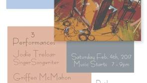 2.4.17 Music wJodi Treloar, Griffin McMahon & Mike Kerr