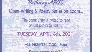 4.6.21 Writing & Poetry Zoom Readings